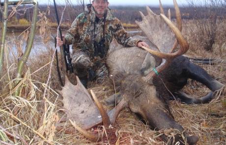 Moose Hunt in Alaska