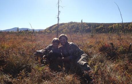 black bear moose hunt