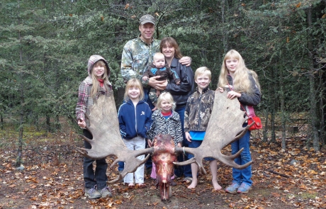Trophy Moose Hunts