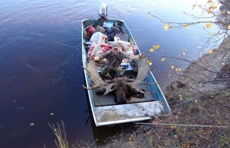 Moose Hunting in Alaska