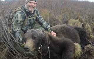 guided grizzly bear hunt