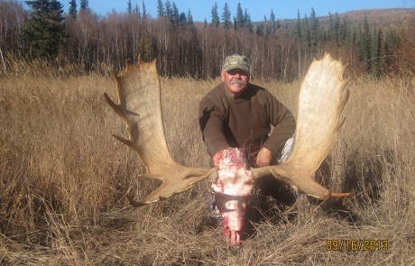 Happy Moose Hunter