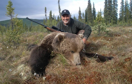 Huge Alaska Grizzly Bear