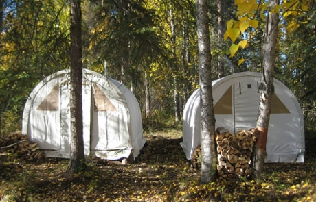 Moose Hunt Camp