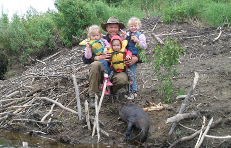 Spring-Beaver-Trapping